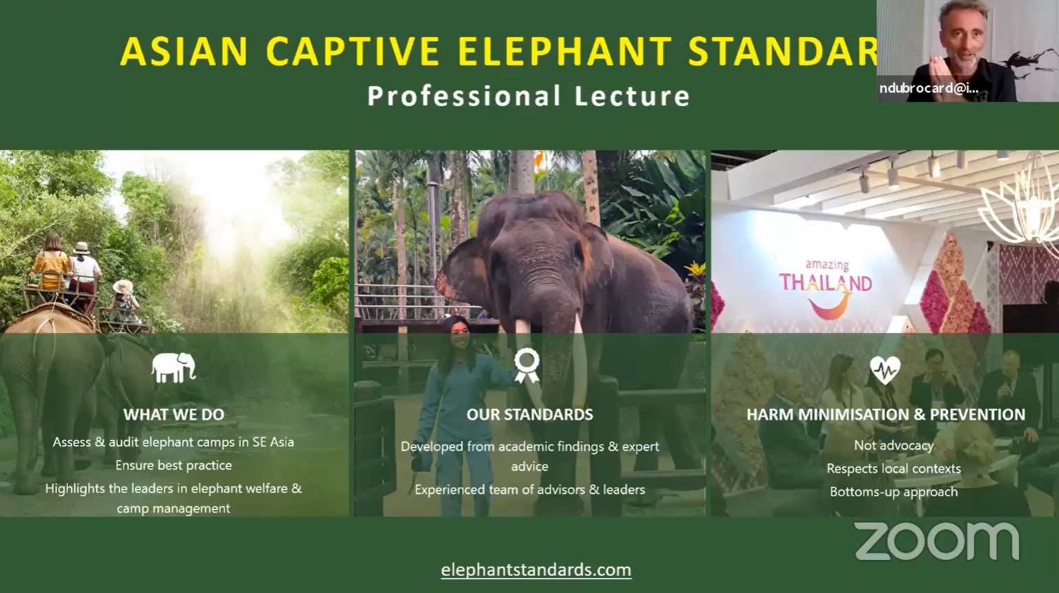 Certifying Elephant Camps