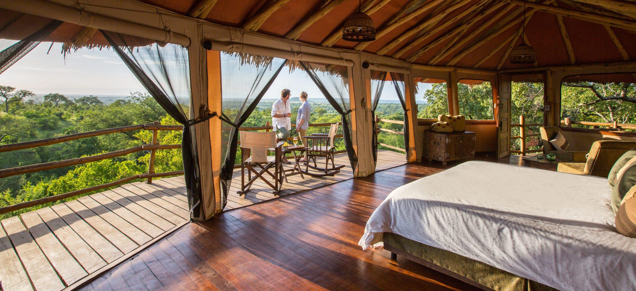 พัก 3 วัน 2 คืน ที่ Tarangire Treetops, ประเทศแทนซาเนีย (~ 120000 บาท)